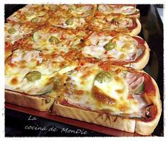 Reall about mini pizza recipes. Kitchen Recipes, Cooking Recipes, Healthy Recipes, Tapas, Food Porn, Mini Pizza, Brunch, How To Make Pizza, Tostadas