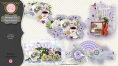 CLGraphics Afternoon Tea Page Clusters
