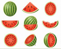 Popular items for clipart fruit on Etsy