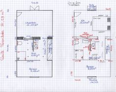 suite parentale dans moins de 15m2 projet pinterest suite master parental et chambres. Black Bedroom Furniture Sets. Home Design Ideas
