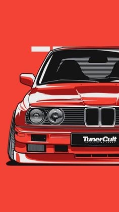 Car Iphone Wallpaper, Jdm Wallpaper, Bmw E30, Tuner Cars, Jdm Cars, Carros Bmw, Cool Car Drawings, Bmw Wallpapers, Street Racing Cars