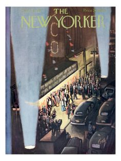 The New Yorker Cover - September 26, 1953 Poster Print by Arthur Getz at the Condé Nast Collection