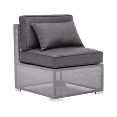 Mission Bay Middle Chair in Gray