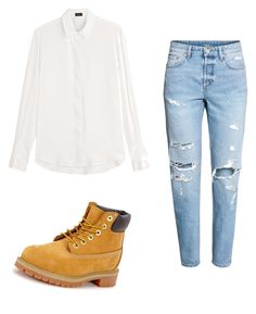 """""""Mila's casual wear"""" by pantsulord on Polyvore featuring Joseph and Timberland"""