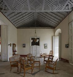 Abuela's Living Room in Cuba.