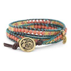 Cadmium Orange Bracelet