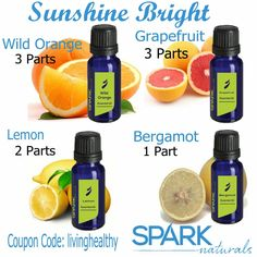 I love my citrus oils and this blend is very uplifting!