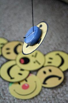 Fishing for Feelings Kids Activity! Easy and extremely entertaining, especially for the littler children! :)