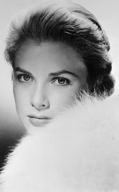 Grace Kelly  I just think she has such a classic beautiful look!