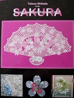 Sakura – Japanese Parchment Craft by Tatsue Shibata | Perfect Parchment Craft Blog