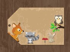 Woodland Theme, Woodland Baby, Baby Shower Fun, Baby Shower Themes, Forest Animals, Woodland Animals, Forest Party, Woodland Christmas, Baby Party