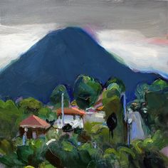 Richard Claremont - Storm approaching over Mt. Kembla