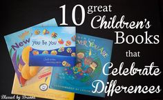 10 Great Children's Books that Celebrate Differences! - Blessed by Brenna