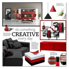 """""""Untitled #984"""" by valentina1 ❤ liked on Polyvore featuring interior, interiors, interior design, home, home decor, interior decorating, Dot & Bo, Diamond Sofa, Missoni Home and 1Wall"""