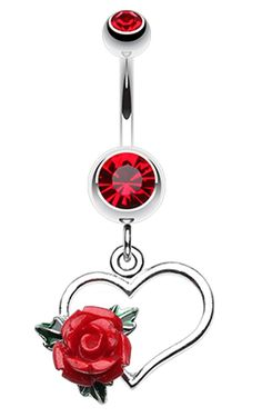 48 Popular Belly Button Rings You'll Love as Navel Piercings Piercings bellybutton nariz oreja Belly Button Piercing Rings, Cute Belly Rings, Bellybutton Piercings, Belly Button Jewelry, Ear Piercings, Rook Piercing, Hearts And Roses, Body Jewellery, Toe Rings