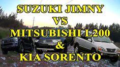 Suzuki Jimny vs Mitsubishi L200 & Kia Sorento