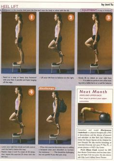 Exercises from Dance Teacher Magazine