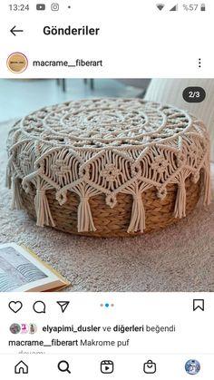 Macrame Bag, Macrame Knots, Micro Macrame, Barn Wood Frames, Rope Crafts, Easy Diy Gifts, Macrame Design, Macrame Projects, Macrame Tutorial