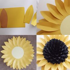 #dahlia #paperflower #paperflowers #paperflowerbackdrop #flowerwall #sunflower #papersunflower #large #diy