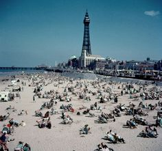 Blackpool Beach in 1954: The making of a tourist destination