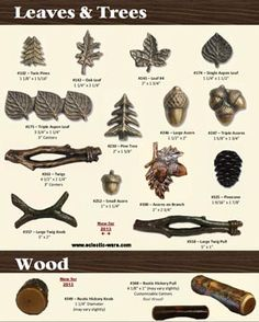 BuckSnort Lodge Products Leave U0026 Trees And Wood Collections Of Cabinet Knobs  And Handles   Real Wood Log Style Kitchen Cabinet Pulls