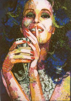 Dutch textile artist Colette Berends
