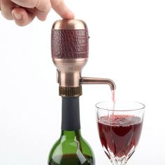 Beverage Serve and Save - Dispense and Aerate Wine at the Touch of a Button