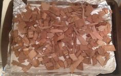 Toast your own wood chips