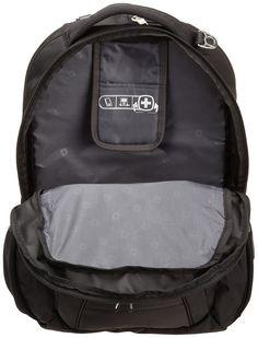 SwissGear SA1908 Black TSA Friendly ScanSmart Laptop Computer Backpack -  Fits Most 17 Inch Laptops and a3744c954af3a