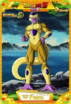 Dragon Ball Z - Golden Freeza by DBCProject on @DeviantArt