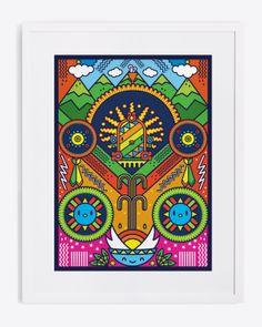 WIRARIX by TIXINDA MEXICO, via Behance