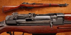 Japanese Garand – Japan's wartime production of semi-automatic rifles was restricted to a handful of experimental and prototype models.  Shortly before the war's end, the Imperial Navy produced the Type 5 rifle, a 7.7mm caliber copy of the American M1 Garand which featured a 10-round box magazine rather than the M1's 8-round en bloc clip. Less than 100 were made and it is unlikely that any were ever issued.