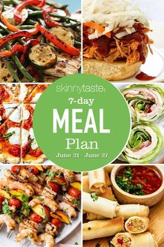 Weight Loss Meal Plan, Weight Watchers Meals, 7 Day Meal Plan, Meal Prep, Skinny Recipes, Healthy Recipes, Healthy Meals, Delicious Recipes, Yummy Food