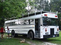 A deck would be great on the bus... a whole other living space!