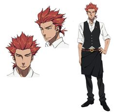 Death Parade Anime: Yoshimasa Hosoya (Haikyu!!, Kids on the Slope) as Ginty, an arbiter, like Dekim, from floor 15. He has a very violent nature and only thinks of himself.