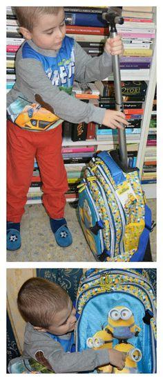 """La Creatività di Anna!!!: Trolley Scuola & Viaggio """"Hello"""" dei Minions di Toc Toc Shop"""