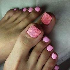 Toe nail art design ideas for summer #ArtForToenails