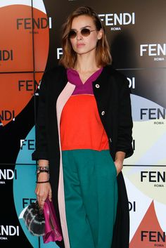 Fendi Fall 2015 Ready-to-Wear - Front-row - Gallery - Style.com