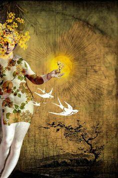 Catrin Arno | German surreal graphic designer | Tutt'Art@ | Pittura * Scultura * Poesia * Musica |