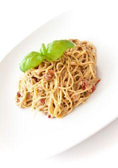 Cucinare con amore: Špagety s pestem a ricottou