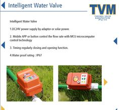 Water Valves, Solar Power, Mobile App, Technology, Products, Tecnologia, Tech, Solar Energy, Mobile Applications