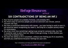 Infj Traits, Intj And Infj, Infj Type, Isfj, Mbti, Meyers Briggs Personality Test, Intj Personality, Free Spirit Quotes, Psychology Facts
