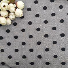 2019 black color dots stretch mesh lace fabric – fabric shoping Mesh Fabric, Lace Fabric, Fabric Material, Print Patterns, Dots, Black, Color, Stitches, Black People