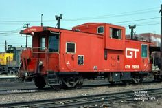 GTW Caboose 79058. Caboose had a cupola where the crew could observe for shifting loads or the telltale red of overheated wheels resulting from wheel bearing freeze ups.