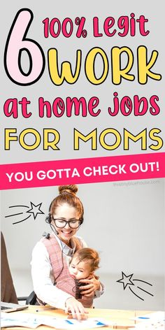 Looking for a work from home opportunity mama? Here are 6 totally legitimate work from home jobs for moms. These opportunities are a great way for moms to make money from home. Work From Home Opportunities, Work From Home Jobs, Make Money From Home, Grocery Savings Tips, Teaching English Online, Money Saving Mom, Legitimate Work From Home, Be Your Own Boss, Blog Writing