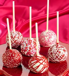 Decadent Happy Valentine's Day Truffle Cake Pops