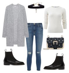 """""""Chelsea boots"""" by kika-lv ❤ liked on Polyvore featuring Frame, Acne Studios, Allude, Valentino and RED Valentino"""