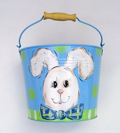 1000 Images About Painted Buckets On Pinterest Buckets