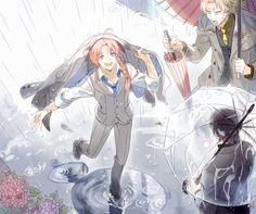 Kamui, Abuto y . Se me olvido el nombre jejejeje . Anime Manga, Anime Guys, Anime Art, Kamui Gintama, Comedy Anime, Otaku, Kawaii, Fan Art, Geek Stuff