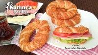 Sütlü Simit Tarifi Turkish Recipes, Beignets, Bagel, Breakfast Recipes, Food And Drink, Pizza, Bread, Meals, Chef Recipes